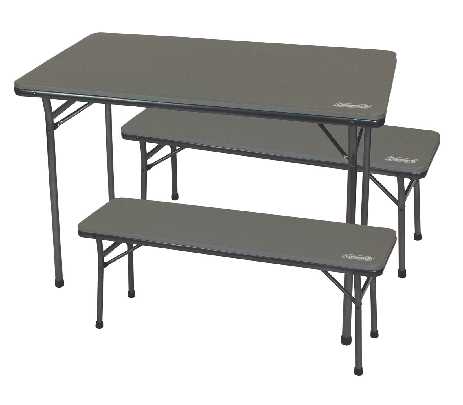Coleman Folding Table Bench Set Great Escape Camping