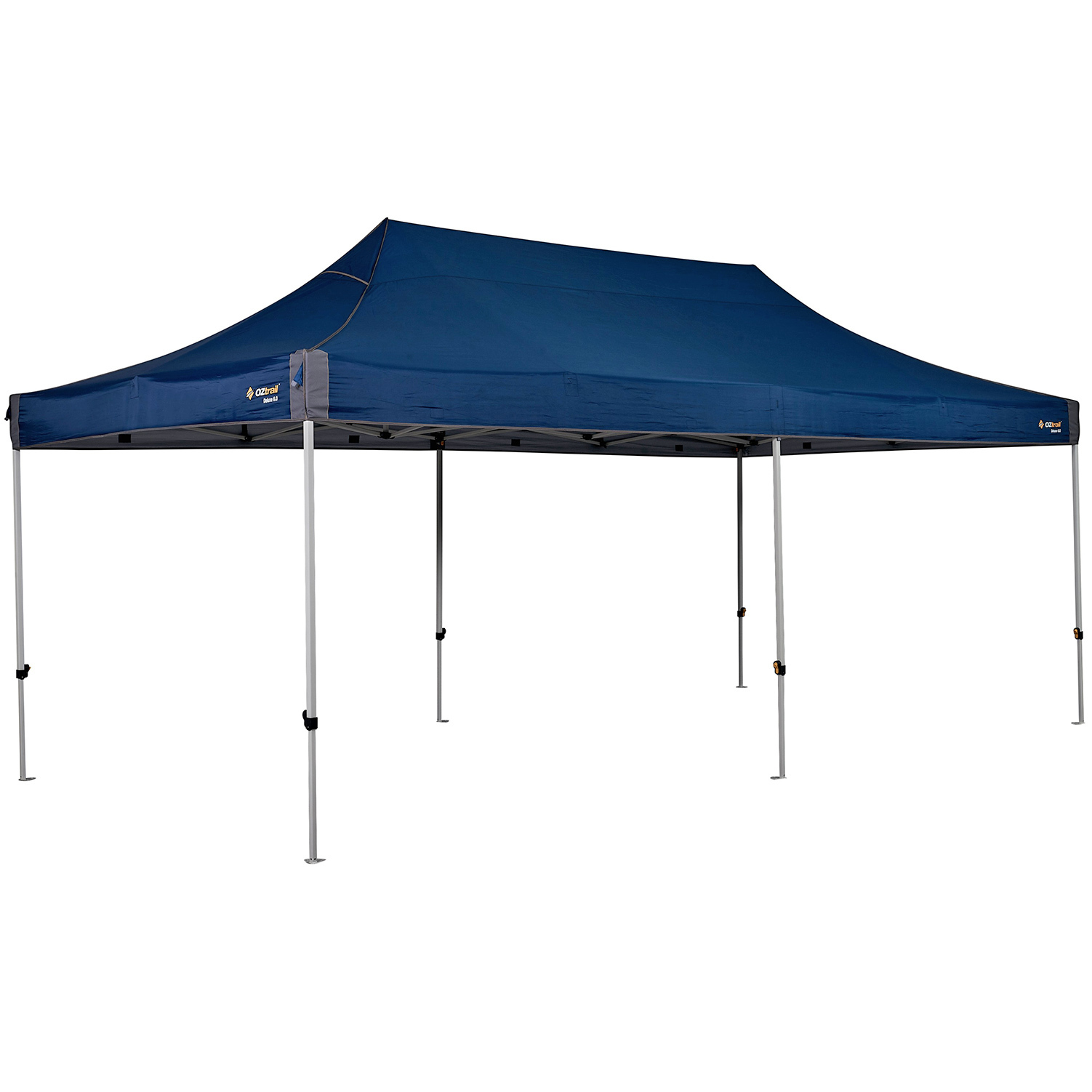 Oztrail Deluxe 6 0 Gazebo Blue Great Escape Camping