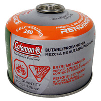 Coleman Butane Screw On 220g Gas Cylinder image