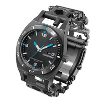 Leatherman Tread Tempo Multi-tool Watch Black image