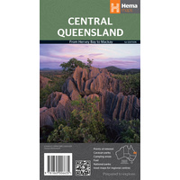 Hema Central Queensland Map image