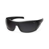 Mako Sunglasses Indestructible Matte Black/Grey PC Polarised Lenses image