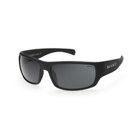 Mako Sunglasses Escape Matte Black/PC Grey Polarised Lenses image