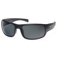 Mako Sunglasses Escape XL Matte Black/PC Grey Lenses Polarised Lenses image