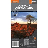 Hema Outback Queensland Map image