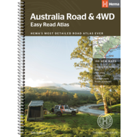Australia Road & 4WD Easy Read Atlas  image