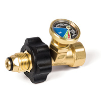 Companion Gas Safety Valve & Gauge image