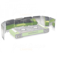 Companion Camping Stove Windshield - Double image