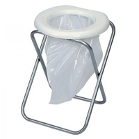 Companion Folding Toilet Chair with Bags image