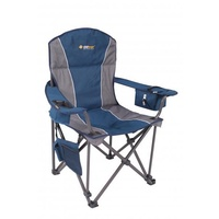 OZtrail Titan Arm Chair Blue image