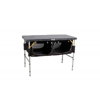 Oztrail Folding Table With Storage image