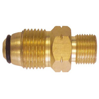"Gasmate Gas Adaptor POL to 3/8"" LH  image"