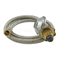 Companion Gas Hose and Regulator 3/8SAE 1.2m Long image
