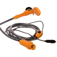 OZtrail 12V Hi Flow Shower with hose & pump image