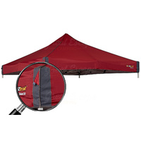 OZtrail Deluxe Gazebo Canopy 3.0 Red image
