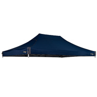 OZtrail Deluxe 4.5 Gazebo Replacement Canopy Blue image