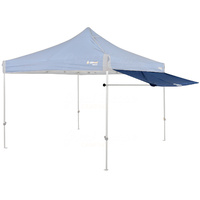 OZtrail Removable Gazebo Awning Kit 3.0 Blue image