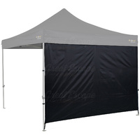 OZtrail Gazebo Wall Solid 3.0 Heavy Duty Black image