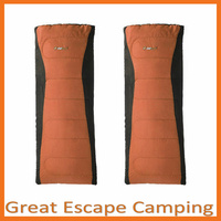 2 x OZtrail BLAXLAND CAMPER -5C SLEEPING BAG ORANGE image