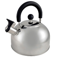 Oztrail Stainless Steel Whistling Kettle 2.5L image