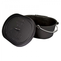 Campfire Camp Oven 10 Quart Oval Pre-Seasoned  image