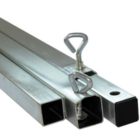 Oztrail 18ft Square Ridge Bar Galvanised image
