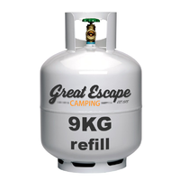 9kg Gas Refill image
