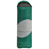 OZtrail Lawson Junior Hooded Sleeping Bag Green -5C image