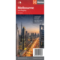 Hema Melbourne and Region Map image