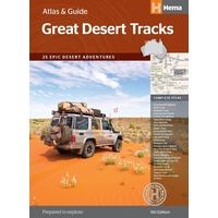 Hema Great Desert Tracks Atlas & Guide image