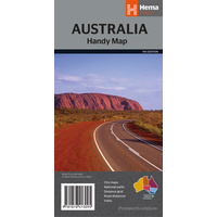 Hema Australia Handy Map image