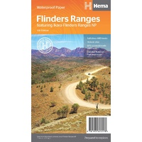 Hema Flinders Ranges Map image