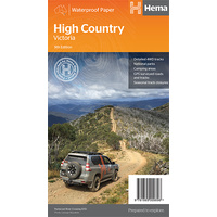 Hema The High Country Victoria Map image
