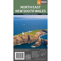 Hema North East New South Wales Map image