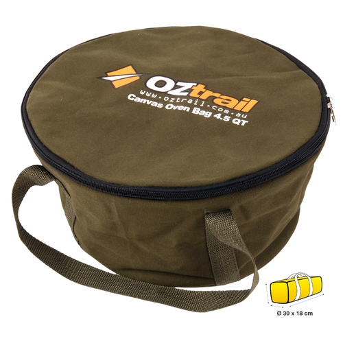 OZtrail Canvas 4.5 Quart Camp Oven Bag