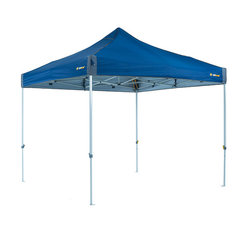 OZtrail Deluxe 3.0 Gazebo Blue with HydroFlow